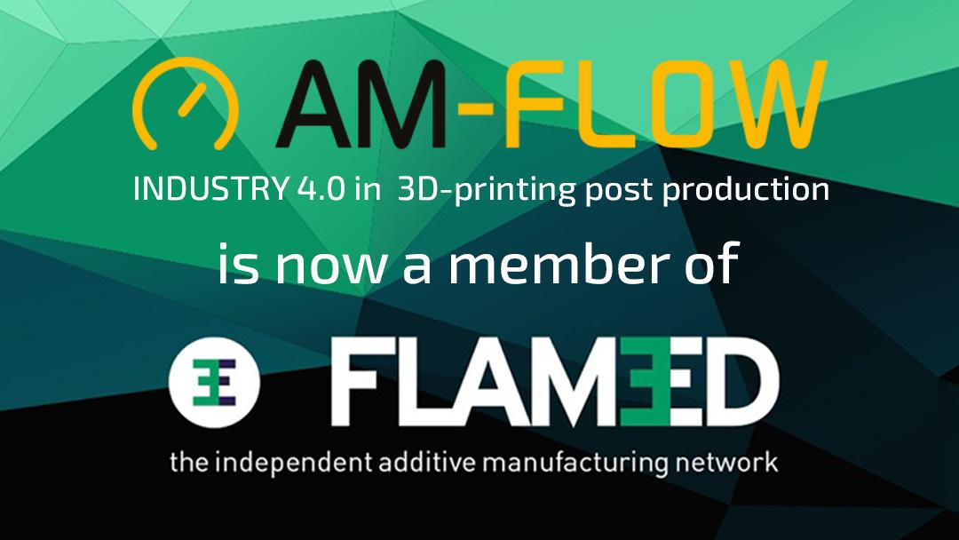 AM-Flow is now member of Flam3D
