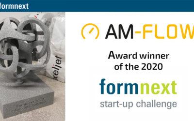 Award winner Formnext Startup challenge 2020