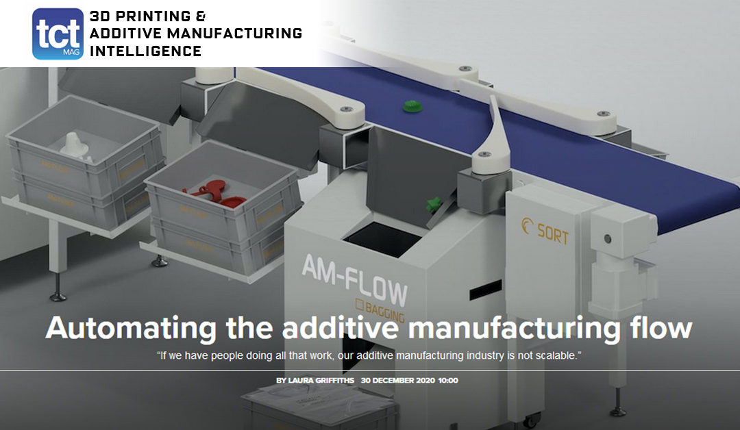 Interview TCT Magazine | Automating the additive manufacturing flow