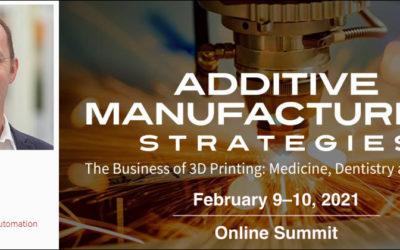 Additive Manufacturing Strategies 2021 Summit
