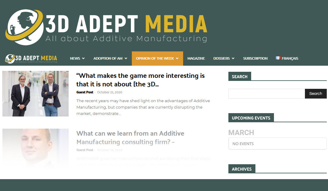 3D Adept media | Question of the week
