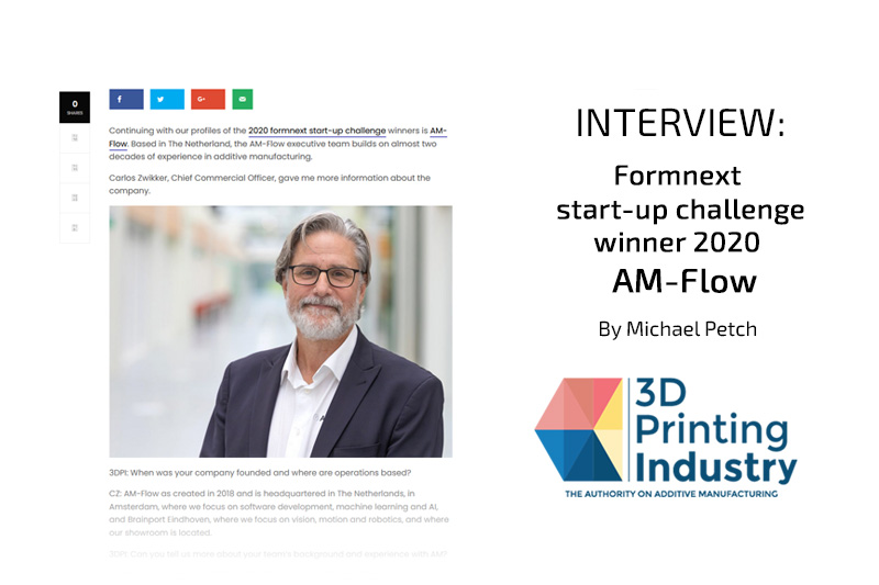 Formnext StartUp Challenge Winner Interview by Michael Petch