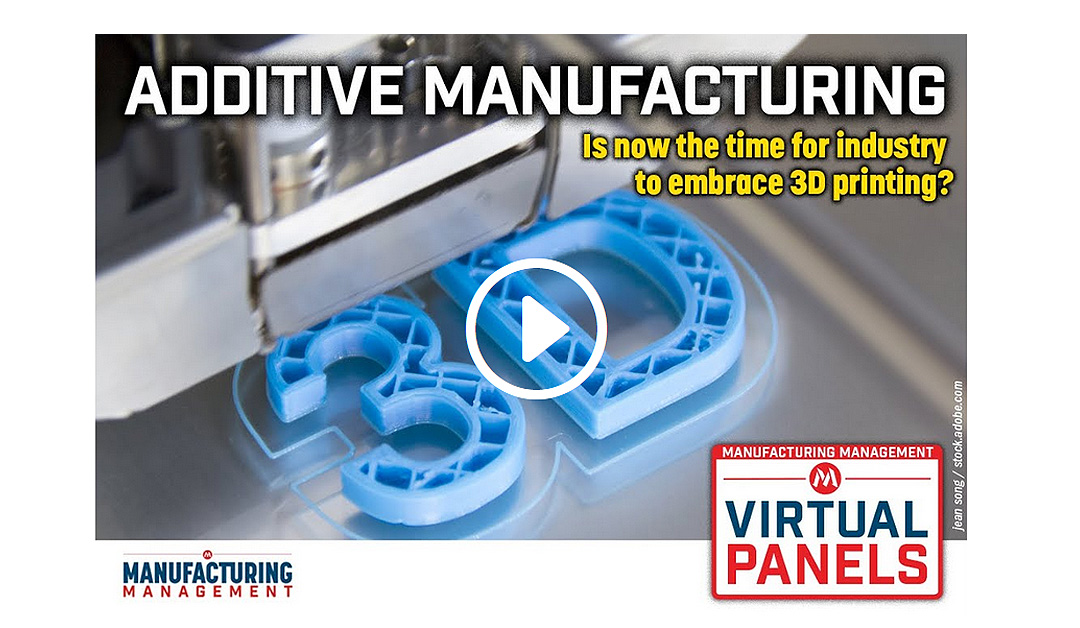 Additive Manufacturing: Is now the time for industry to embrace 3D printing?