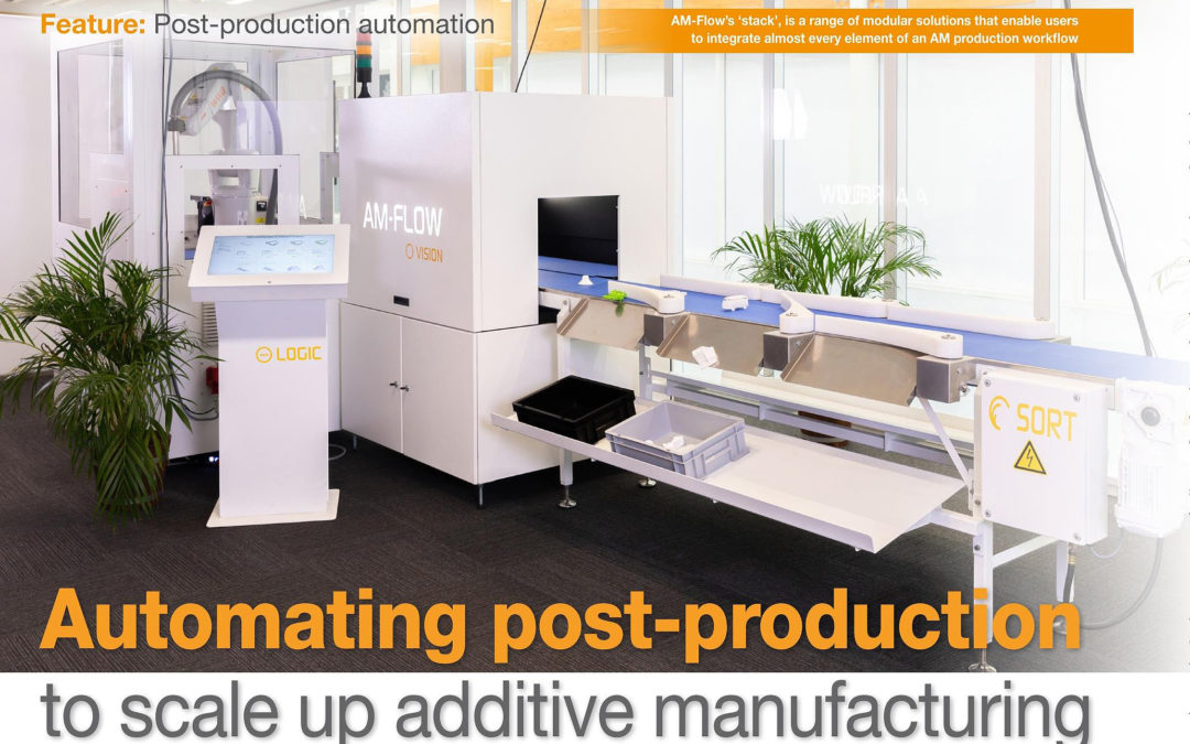 DPA | Automating post-production to scale up additive manufacturing