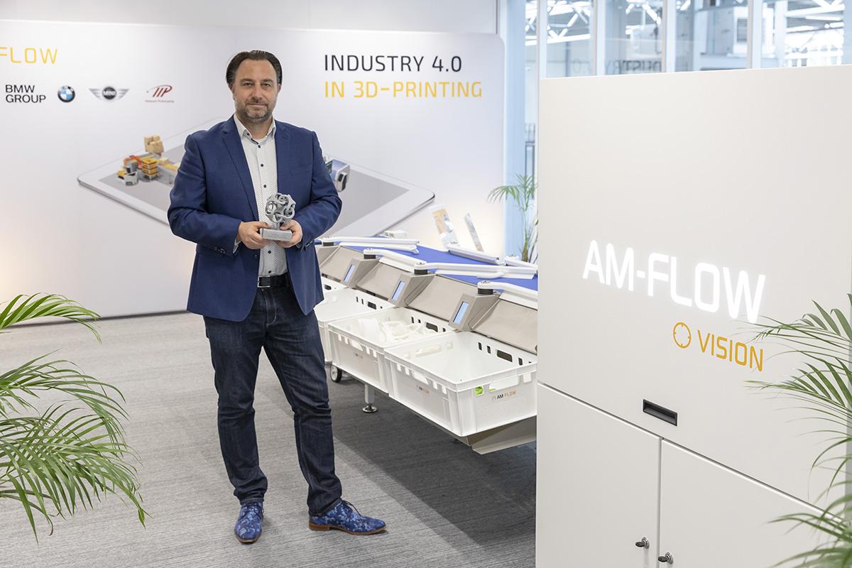 Dennis Lieffering Marketing Manager AM-Flow at the Brainport Industries Campus