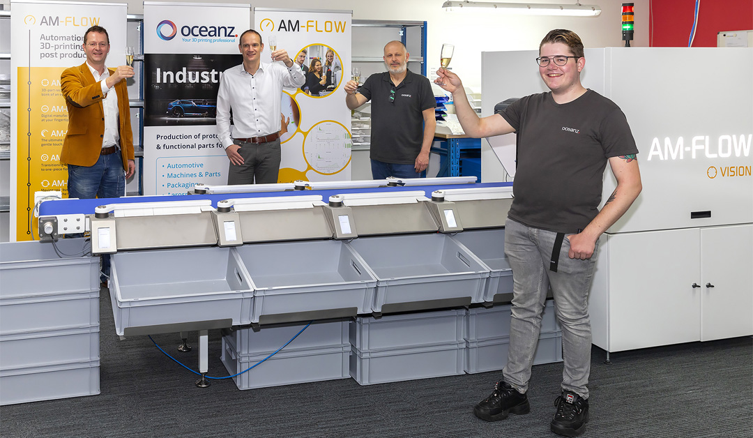Oceanz and AM-Flow take the next step in intensive cooperation
