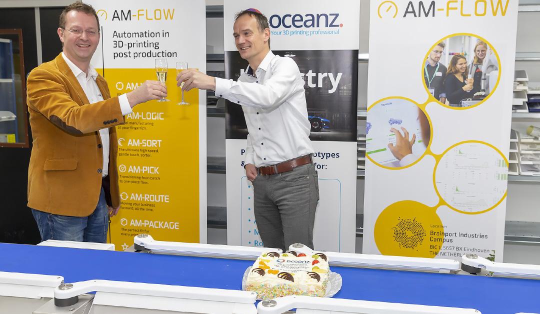 Oceanz en AM-Flow zetten volgende stap intensieve samenwerking