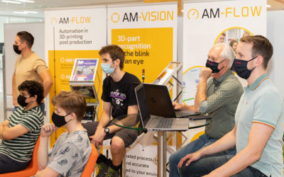 Completion of the Avans Hogeschool internship summer 2021 'Project Mechatronics' at AM-Flow